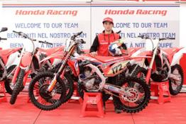 155228 Honda presents new 2019 CRF line-up at the MXGP of the Netherlands