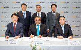21218327 2018 - Signature of a strategic cooperation agreement Renault and