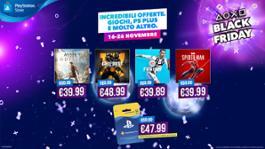 PlayStation Iniziano le offerte del Black Friday di PlayStation
