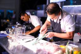 4. Chef Joel Collado & Assistant Reynan Aguilos