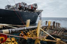 TurkStream gas pipeline's offshore section completed