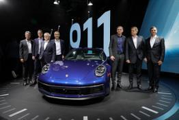 The new Porsche 911 – a design icon and high-tech sports car