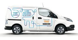 Nissan e-NV200 Van sharing