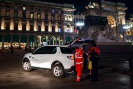 CRI e JLR Italia Progetto Strade della Solidarietà