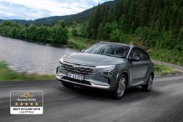 Hyundai NEXO Best in Class EuroNCAP