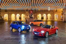 181214 Fiat Fiat 500X 500L e 124 Spider Luci Artista