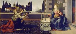 FIRENZE - Annunciazione (Uffizi) (PIXABAY)