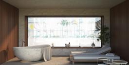 Rendering Pool Suite 2 Terme Merano