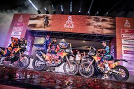 263411 misc finish Red Bull KTM Factory Racing Dakar2019 485