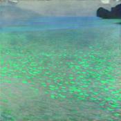1363 KLIMT PERSOeNLICH Gustav Klimt Attersee 1900