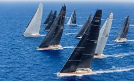 Wally Class start - Maxi Yacht Rolex Cup 2017 ph Rolex-Carlo Borlenghi  (2)