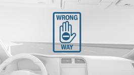 Wrong-way driver warning 2