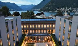 Hilton Lake Como - view by night
