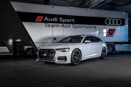 ABT Audi A6 glacier white aerodynamics package 01