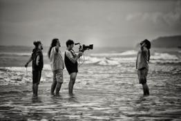 Ombra e il poeta (ph Mario Biancardi) Premio MIGLIOR FOTOGRAFIA