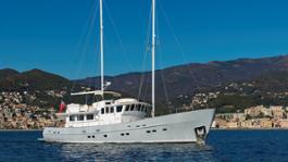 Virginian 20m sailing yacht