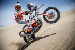 Laia Sanz - KTM 450 RALLY - 2019 Dakar Rally