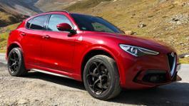 2019 Alfa Romeo Stelvio QV Test Review Stilfser Joch IMG 8500