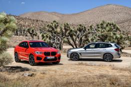 The all-new BMW X3 M Competition and the all-new BMW X4 M Competition