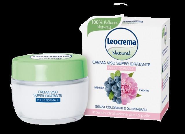 Leocrema Natural La Nuova Linea Viso Per Una Bellezza 100 Naturale