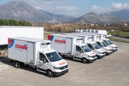 Volkswagen Veicoli Commerciali consegna una flotta di 20 veicoli allestiti Lamberet a Morini Rent 1