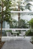 Skin chairs + high table Giacomo Cattani 2019 Trabà