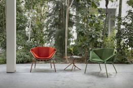 Skin lounge armchair Giacomo Cattani 2019 Trabà