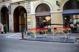 artistic installation Urban Freedom Elena Ghisellini