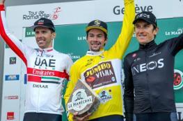 Roglic Romandie 5 podio