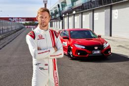 180691 F1 Legend Jenson Button Returns to Mount Panorama Bathurst for Australian