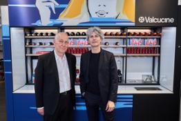 Paul Monks Valcucine Forza and Giuseppe Di Nuccio Valcucine CEO