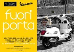 02 Locandina Fuori Porta Vespa La Cucina Italiana horizontal