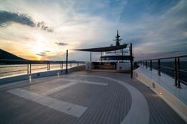 Upper deck bow  - Helipad