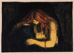 06. E. Munch Vampiro II, 1895-1902