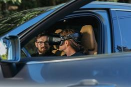 253690 Volvo Cars and Varjo launch world-first mixed reality application for car