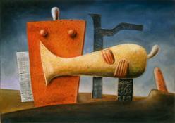 07.  M. von Moos Totenklage, 1936