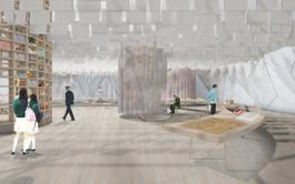 01 VDM Food Shaping Kyoto  Exhibition rendering