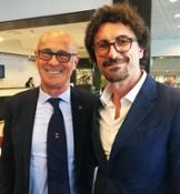 Il Presidente UCINA Saverio Cecchi e il Ministro dei Trasporti Danilo Toninelli