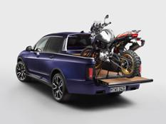 Photo Set - BMW X7 Pick-up and BMW F 850 GS