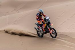 Luciano Benavides - KTM 450 RALLY - 2019 Silk Way Rally