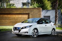 Nissan LEAF 2020-top