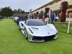 Lotus Evija on the Concept Lawn at Pebble Beach Concours - 2