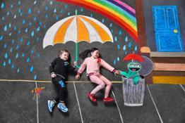 19AW xSP Sesame-Street Chalk-Scene-2 On-Figure Pack 0039 RGB