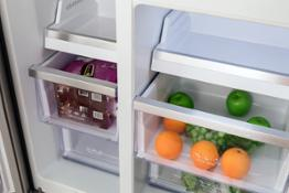 Freezer-Variable Temp. chamber drawers with SS trims