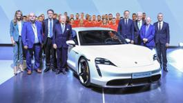 4283360 factory opening for the taycan in stuttgart zuffenhausen 2019 porsche ag