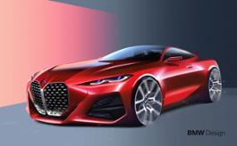Photo Set - BMW Concept 4 - Sketches