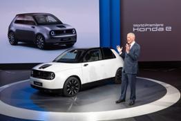 187522 Honda e and Frankfurt International Motor Show 2019