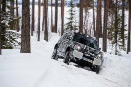 TESTED TO EXTREMES THE NEW LAND ROVER DEFENDER