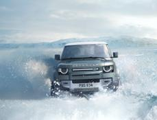 THE NEW DEFENDER 90 OFF-ROAD CAPABILITY