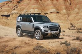 THE NEW DEFENDER 110 OFF-ROAD CAPABILITY